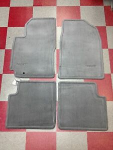 1997 2001 Camry Carpet Floor Mats Blue Gray 00200 32970 33 4pc Set Genuine Oem