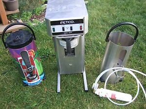 Fetco Tbs 21a Commercial Iced Coffee Tea Extractor Brewer Maker Machine Extras