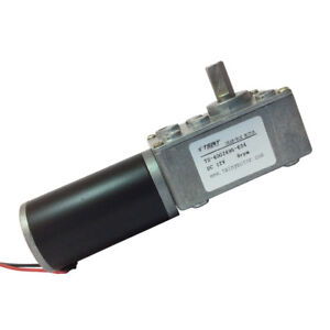 12v 8rpm Worm Gear Motor Right Angle Gear Motors Reversible 5 16 In Shaft
