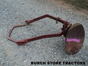 Official Ih Farmall Cub Belly Mount Disc Plow