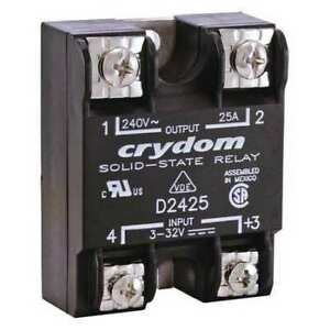Solid State Relay 3 To 32vdc 25a Crydom D2425