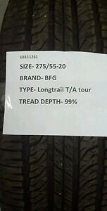 Used Bfg Longtrail T a Tour 275 55 20 2755520 P275 55r20 2755520 275 55 20