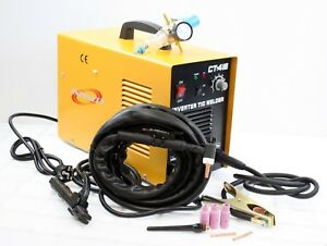 All 3 In 1 Plasma Tig Arc Inverter Welding Cutting Machine 220v Welder W gauge