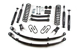 84 01 Jeep Cherokee Xj 4 5 Zone Offroad Suspension Kit W rear Leaf Springs