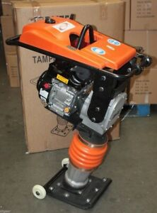 196cc 6 5hp Gas Power Dirt Rammer Jumping Jack Tamper Tamping Ram Compactor