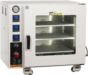 Ai 3 2 Cf Vacuum Oven Ul csa Certified 110v 3 Heated Shelves And St Steel Tubing