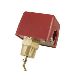 Ac 250v 15a Spdt G1 Cooling System Water Flow Valve Paddle Control Switch