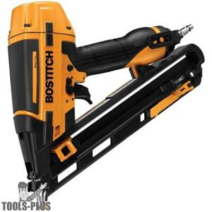 Bostitch Smart Point 15ga Da Style Angle Finish Nailer Kit Btfp72155 New
