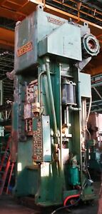Verson Straight Side Single Crank Punch Press 500 Ton X 46 X 36 6320