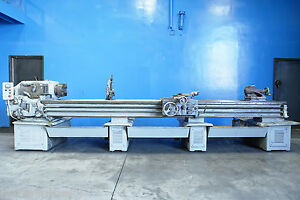 16 5 Swing X 150 Center Sidney Engine Lathe Metal Turning W Taper Attachment