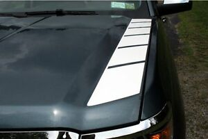 Outer Side Hood Graphic Stripes 2014 2015 Silverado 1500