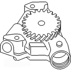 2130385 New Engine Oil Pump For Allis Chalmers Ac Tractor Models 7085