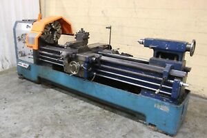 Lansing Engine Lathe 24 30 X 80 6370