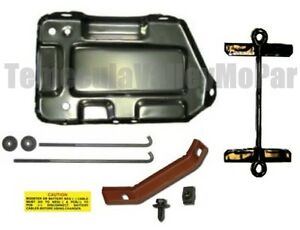 Battery Tray Hold Down Set For 1970 1976 Mopar A Body