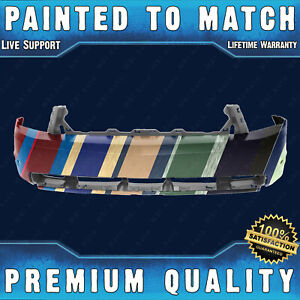New Painted To Match Front Bumper Cover For 2010 2011 2012 Ford Mustang Gt