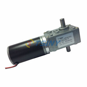 12v Dc Double Shaft Electric Right Angle Gear Reduction Motor 160rpm Ts 40gz595