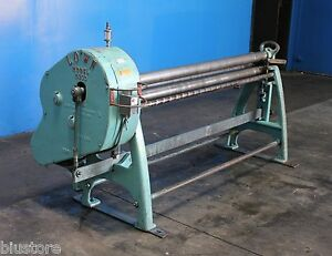 24 Ga X 5 Lown Power Sheet Metal Roll Metal Bender Metal Former Roller Hvac