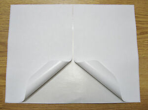 2000 Shipping Labels Self Adhesive Half Sheet Postage Paper Usps Ebay 8 5 X 5 5