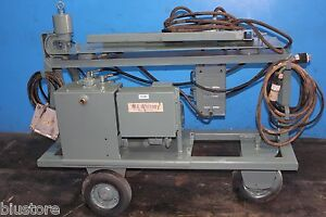 20 Ton W a Whitney Portable Hydraulic Plate Steel Punch Metal Hole Fabricating