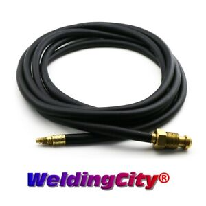 Tig Welding Power Cable water Hose 41v29r Rubber 25 350amp Torch 18 Us Seller