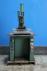 15 Kva Thermatron P20a Plastic Welding Seemer Sealer 30 x20 Bed 0 5 Stroke