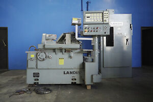 10 Swing X 20 Centers Landis Mdl 1r Cylindrical Od Grinder Metal Grinding