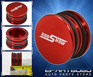 For Acura Honda Jdm D B H F Series Camshaft Seal Cap Plug Billet Aluminum Red