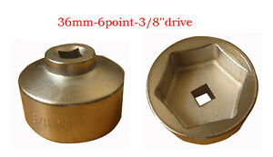 36mm Oil Filter Wrench For Ford Truck Bmw Minicooper Volvo Mercedes Benz Audi Vw