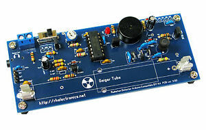 Diy Geiger Counter Kit Nuclear Radiation Detector For Arduino Fits Iphone