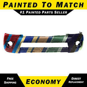 New Painted To Match Front Bumper Cover Fascia For 2006 2009 Toyota 4runner