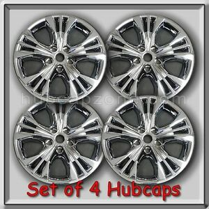 4 Chrome Wheel Skins Hubcaps Chevy Impala 18 2014 2018 Chevrolet Wheel Covers