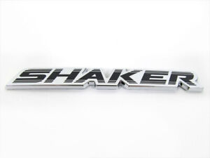 Dodge Challenger Charger 3d Chrome Black Shaker Emblem Nameplate Oem New Mopar