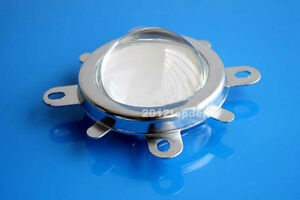 90 120 44mm Lens Reflector Collimator Fixed Bracket For 20w 100w Led