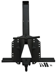 Black Mountain Jk Jeep Wrangler Heavy Duty Tire Carrier 2007 2018