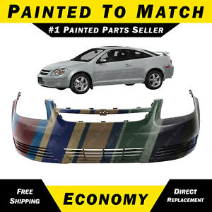 New Painted To Match Front Bumper Cover Fascia For 2005 2010 Chevy Cobalt