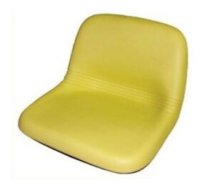 Seat For John Deere Lawn Tractors Am115813 Yellow Gt Lx Tractors