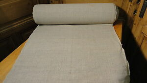 Homespun Linen Hemp Flax Yardage 25 9 Yards X 25 Plain 5661