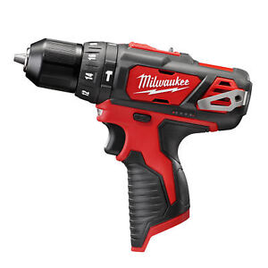 Milwaukee 12 Volt M12 3 8 Cordless Hammer Drill Nib Tool Only 2408 20 New