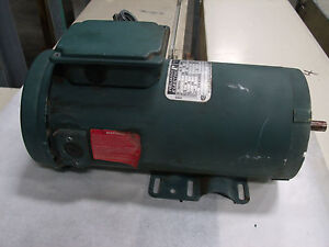 Reliance Electric 1hp Dc Motor Model T56s1013a Lot 3