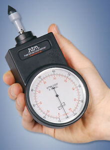 Htm 500f Hand held Mechanical Tachometer 30 50 000 Rpm 15 25 000 Ft min