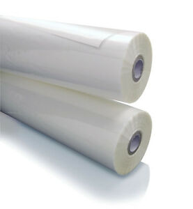 New 2 rolls Gbc 5 Mil Nap lam Ii Gloss Laminating Film 3125902 Clear 18 X 200