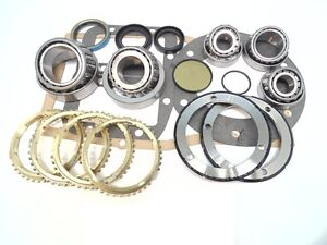 Transmission Rebuild Kit With Synchro Rings 1988 On G360 5 Speed Bk261ws