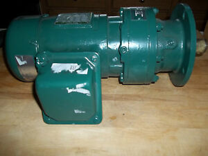 Sumitomo Sm cyclo 3 Phase Ac Induction Gear Motor With Brake Wvm93100 Rpm 30
