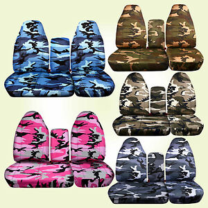 1997 2003 Ford F150 Camouflage Car Seat Covers F150 Bucket 40 60 Choose Camo