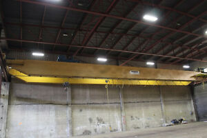 Demag Double Girder Top Running Overhead Bridge Crane 20 Ton X 100 6451