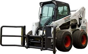 Ffc Skid Steer Bale Handler The Bale Squeeze