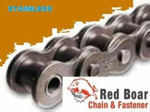 40ss Stainless Roller Chain 100ft New From Factory W 10 Free Connecting Links