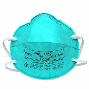 3m Health Care Particulate Respirator And Surgical Mask 1860 120 cs