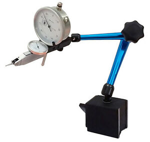Magnetic Base 0 0005 Test Indicator And 0 001 Dial Indicator Fine Adjustment