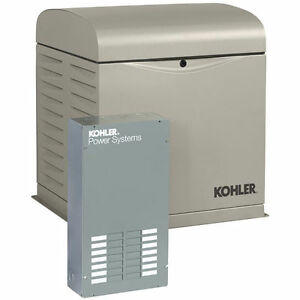 Kohler 12resvl 12kw Home Standby Generator System 100a 12 circuit Automati
